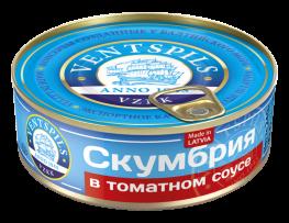 Скумбрия в томатном соусе   Нетто: 240гр