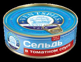 Сельдь в томатном соусе   Нетто: 240гр