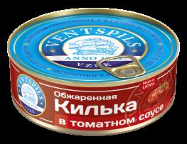 Обжаренная килька в томатном соусе   Нетто: 240гр