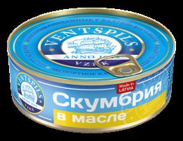 Mackerel in oil  Net: 240g